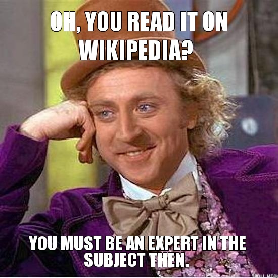 expert writing for wikipedia or how i learned to stop worrying and love